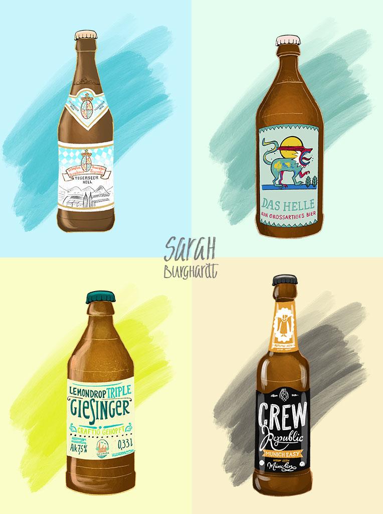 Das beste Bier der Stadt by Sarah Burghardt